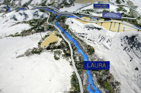 Спортивный макет: как будут выглядеть олимпийские объекты в Сочи