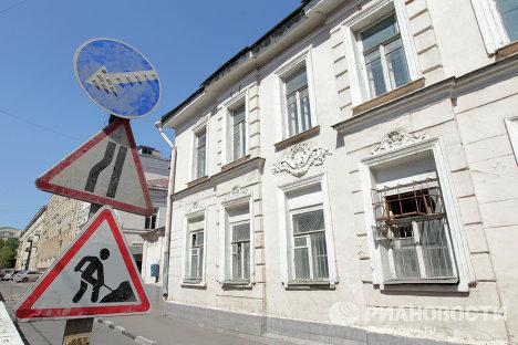 Снос усадьбы купца Алексеева в центре Москвы