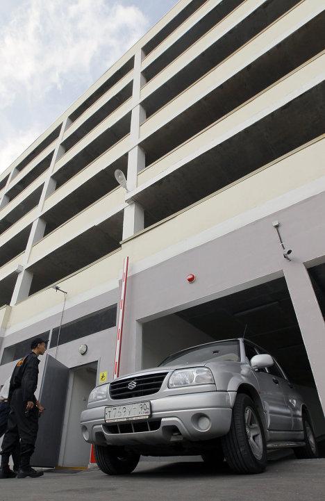Открытие паркинга Народный гараж