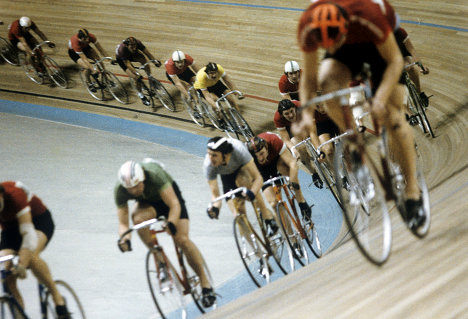 Тренировка велосипедистов
