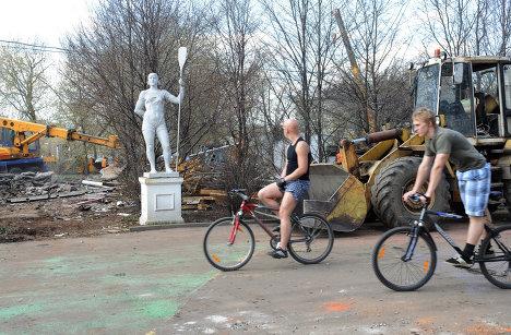 Центральный парк культуры и отдыха (ЦПКиО) имени А. М. Горького в Москве