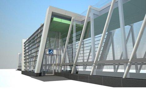 Проект новой станции московского метро.
