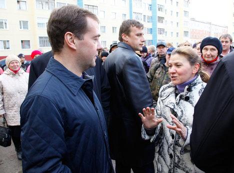 Рабочая поездка Д.Медведева в Ненецкий автономный округ