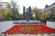 Памятник Крупской, Сретенский бульвар 3