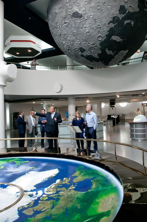Посещение Сергеем Собяниным Московского планетария