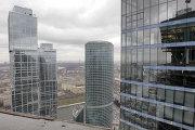 Строительство высотных зданий комплекса Москва-Сити