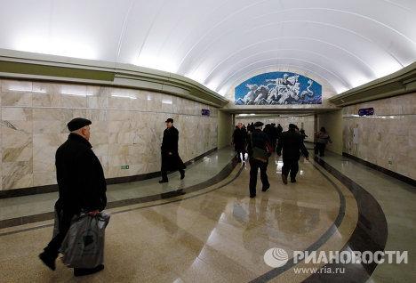 Открытие станции метро Адмиралтейская