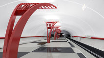 Платформа станции метро Алма-Атинская
