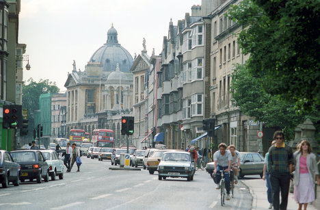 На одной из улиц Оксфорда