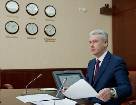 Мэр Москвы Сергей Собянин проводит прием граждан по личным вопросам