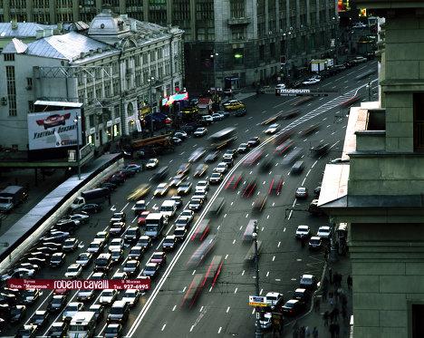 Тверская улица в Москве