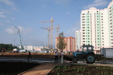 Строительство микрорайона Мамулино в Твери компанией СУ-155