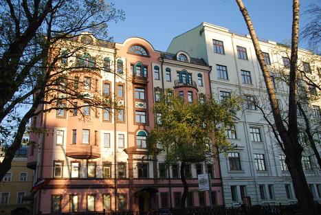 Дореволюционные постройки архитектора Лазарева