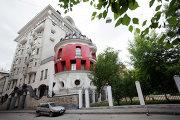 Дом-яйцо в центре москвы, необычные здания Москвы