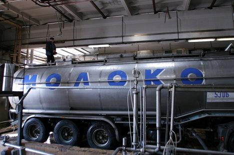 На Лианозовском молочном комбинате