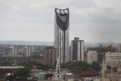 Небоскреб Strata tower в Лондоне