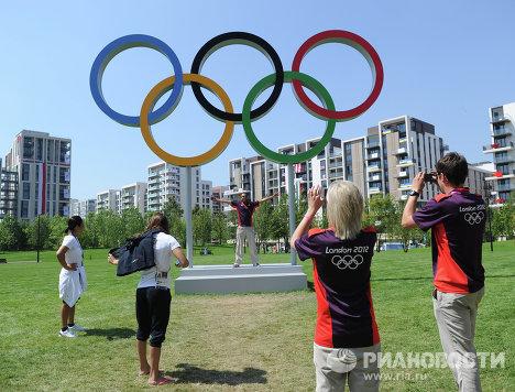 Олимпийская деревня в Лондоне