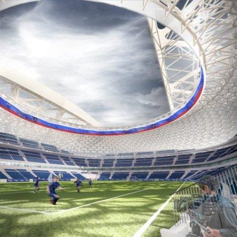 Новый облик стадиона Динамо: версия Эрика ван Эгераата