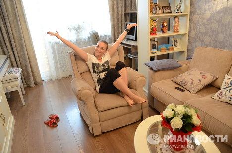 Квартира певицы Марины Девятовой