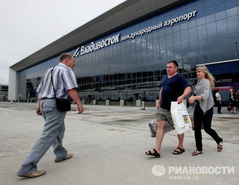 Новый терминал аэропорта Владивостока построен к саммиту АТЭС
