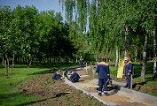 Сергей Собянин ознакомился с ходом благоустройства парка по Олонецкому проезду