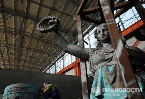 Реставрация Триумфальной арки