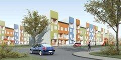 Типовые многоквартирные дома, которые будут строиться на землях Фонда РЖС