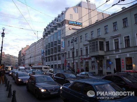 Отель Park-Inn-Невский в Петербурге