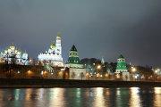 Самые освещенные места в Москве - Кремль