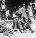 Рабочие-подёнщики на Хитровом рынке