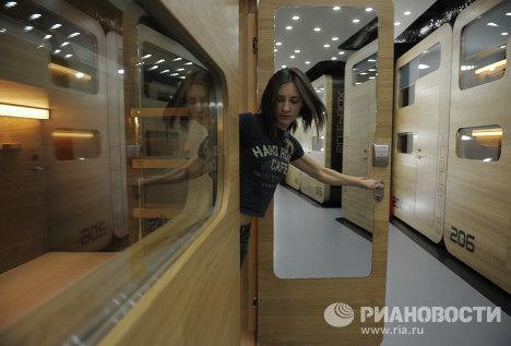 Капсульная гостиница Sleepbox Hotel Tverskaya открылась в Москве