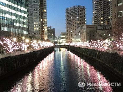Иллюминация в Токио