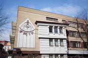 Солнечные часы на здании русско-литовской школы