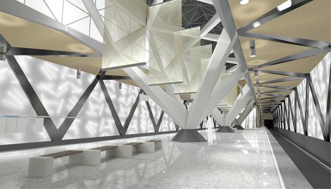 Проект станции метро «Селигерская»