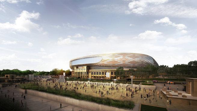 Последний вариант внешнего вида стадиона Динамо после реконструкции