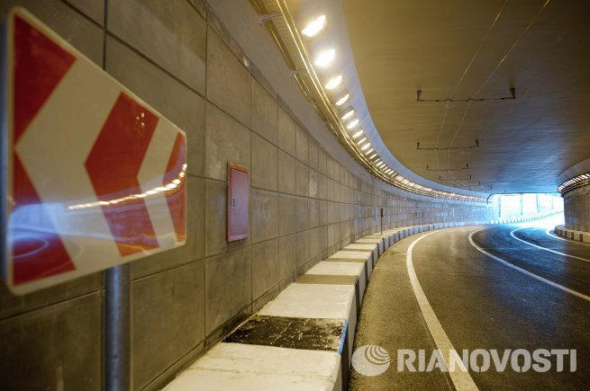 Реконструируемое Каширское шоссе