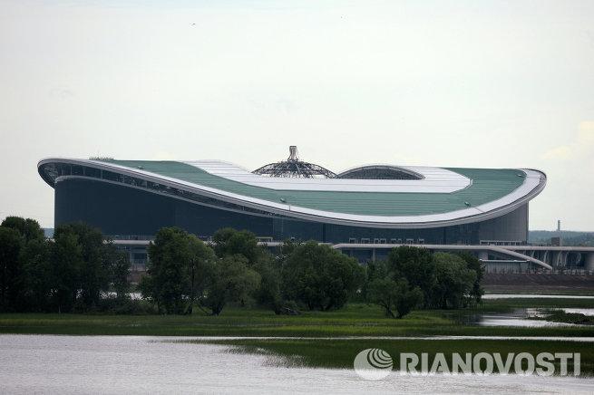Пресс-тур по спортивным объектам Универсиады - 2013 в Казани