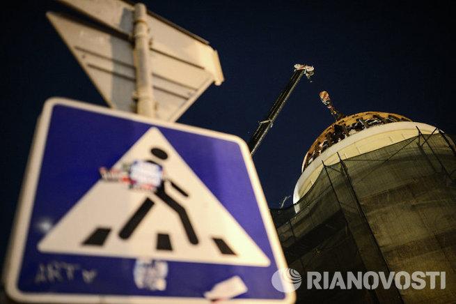 Активисты Архнадзора помешали сносу дома Волконских