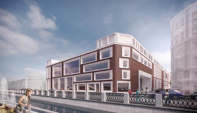 Концепция архитектурного решения фасадов нового музейного корпуса Третьяковской галере архюро  SPEECH