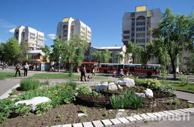 Центр города Сыктывкар