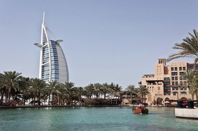 Бурдж-эль-Араб в Дубае (ОАЭ)