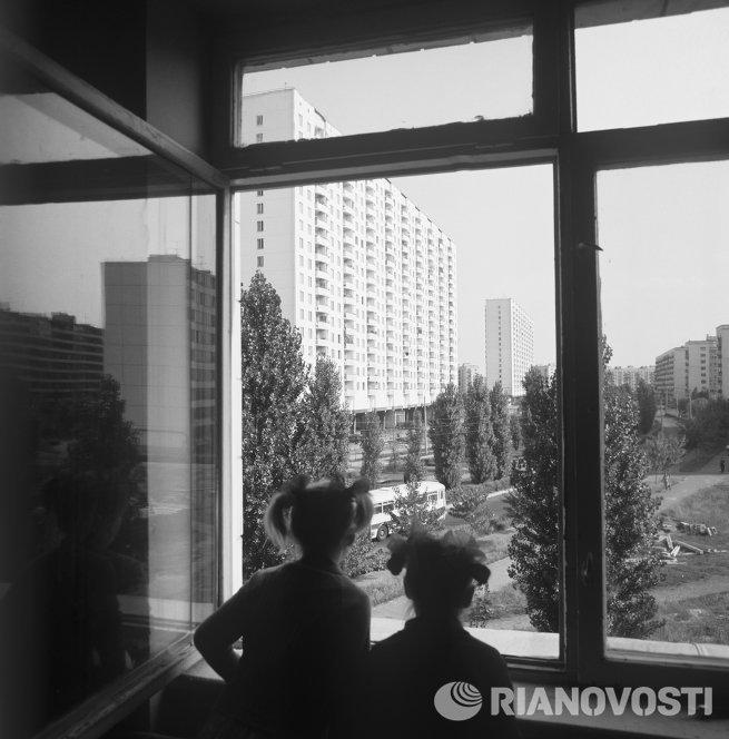 В одном из новых жилых районов города Киев