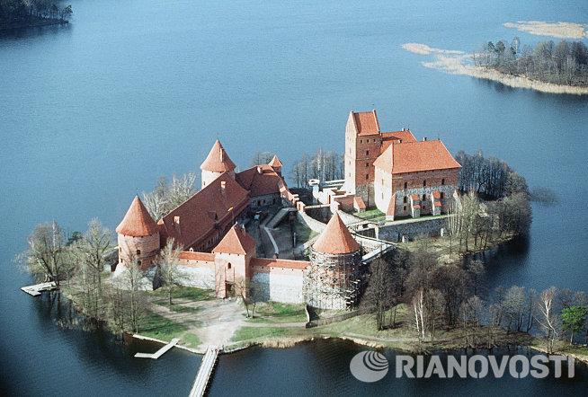 Тракайский замок в Литве