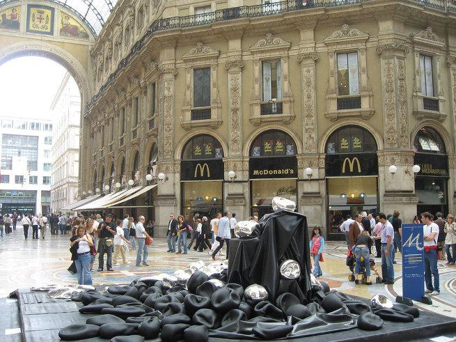 Макдональдс в Милане