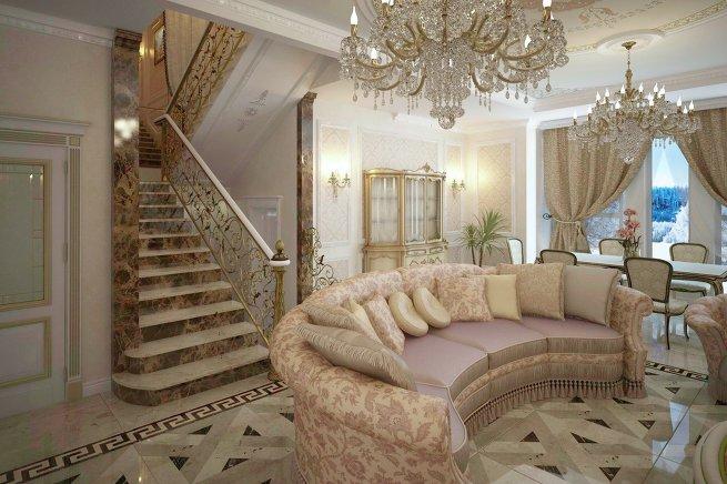 Как гармонично вписать лестницу в интерьер дома