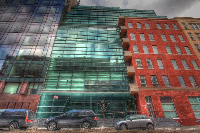 Жилой дом на Гринвич-стрит в Нью-Йорке