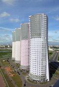 Вид на жилой комплекс на Ходынском поле