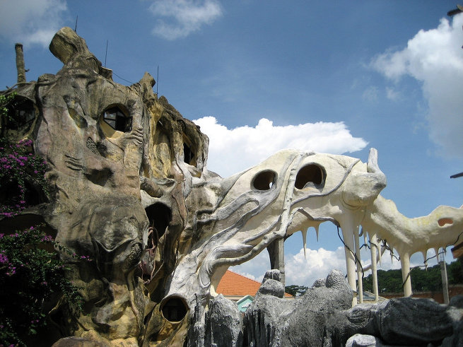 Отель сумасшедший дом во Вьетнаме