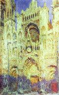 Репродукция картины Клода Моне Руанский собор в полдень