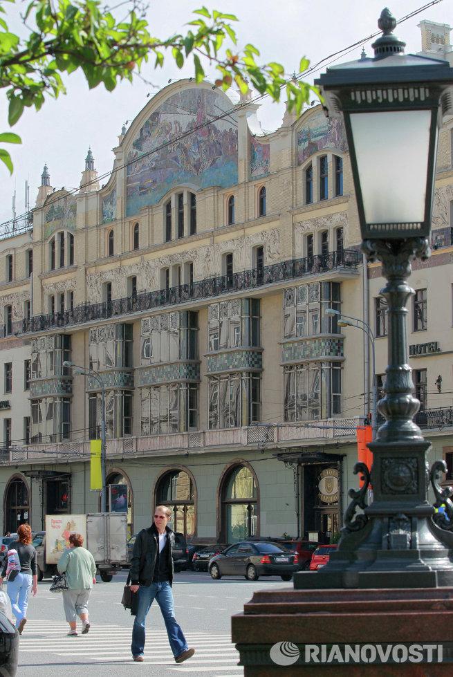 Власти Москвы продали с аукциона отель Метрополь